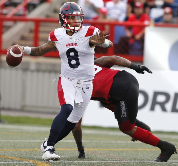 Adams Jr., Alouettes come from behind to beat Stampeders 40-34 in overtime