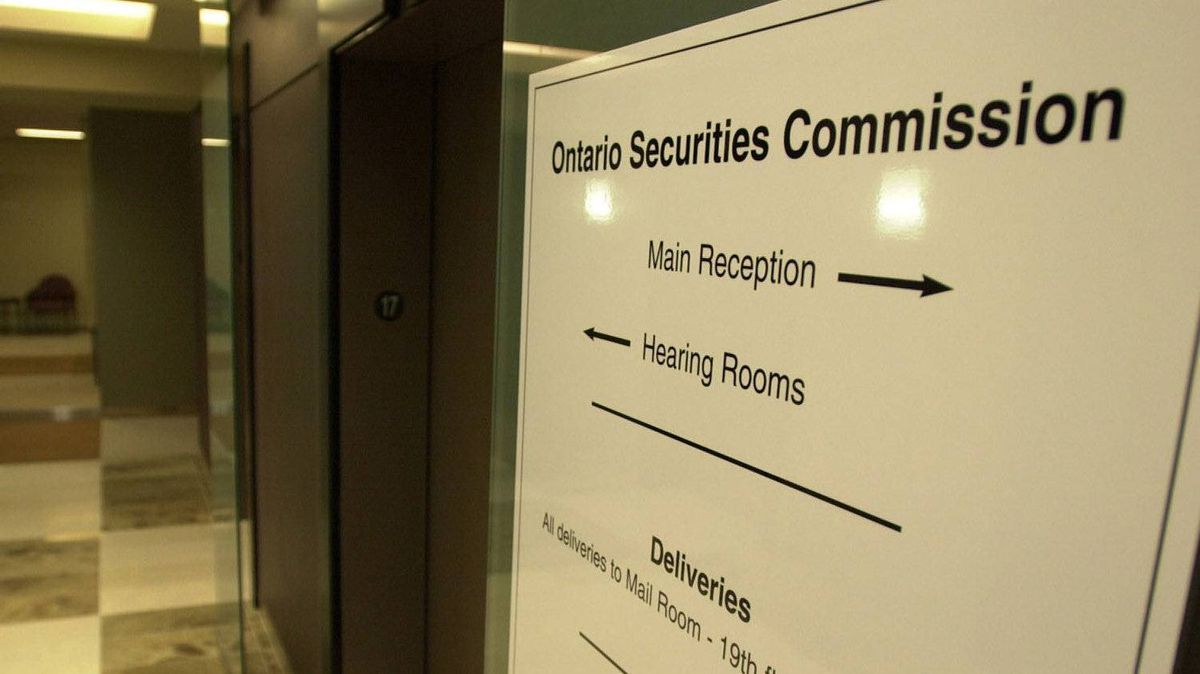 OSC hearing rooms in Toronto.