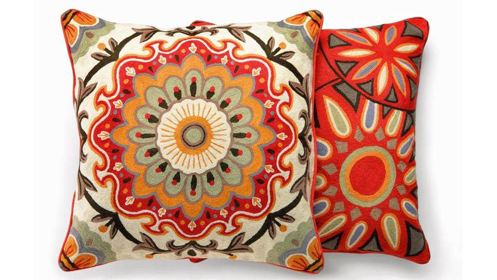 Brighten up the room with throw pillows The Globe and Mail