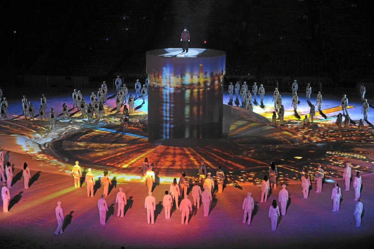 Slam poet Shane Koyzcan takes centre stage at the opening ceremonies of the Vancouver Olympics. His performance has introduced people around the world to a mostly underground art form.