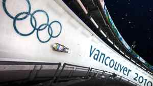 The luge track at the Whistler Sliding Centre at the Vancouver 2010 Winter Olympics. John Lehmann/The Globe and Mail