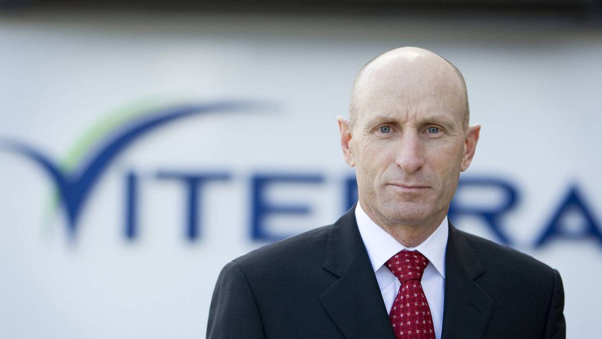 A file photo of Mayo Schmidt, CEO of Viterra.