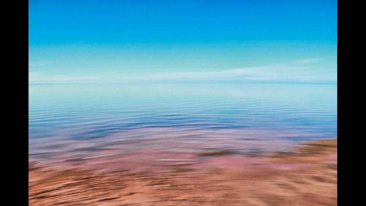 Photo was taken on a calm day two weeks ago. The tide was changing on the south shore of PEI.