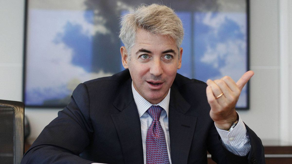 William Ackman of Pershing Square Capital Management, seen here Sept. 27, 2010, is locked in battle with the management of CP Rail as he tries to replace the company's chief executive.