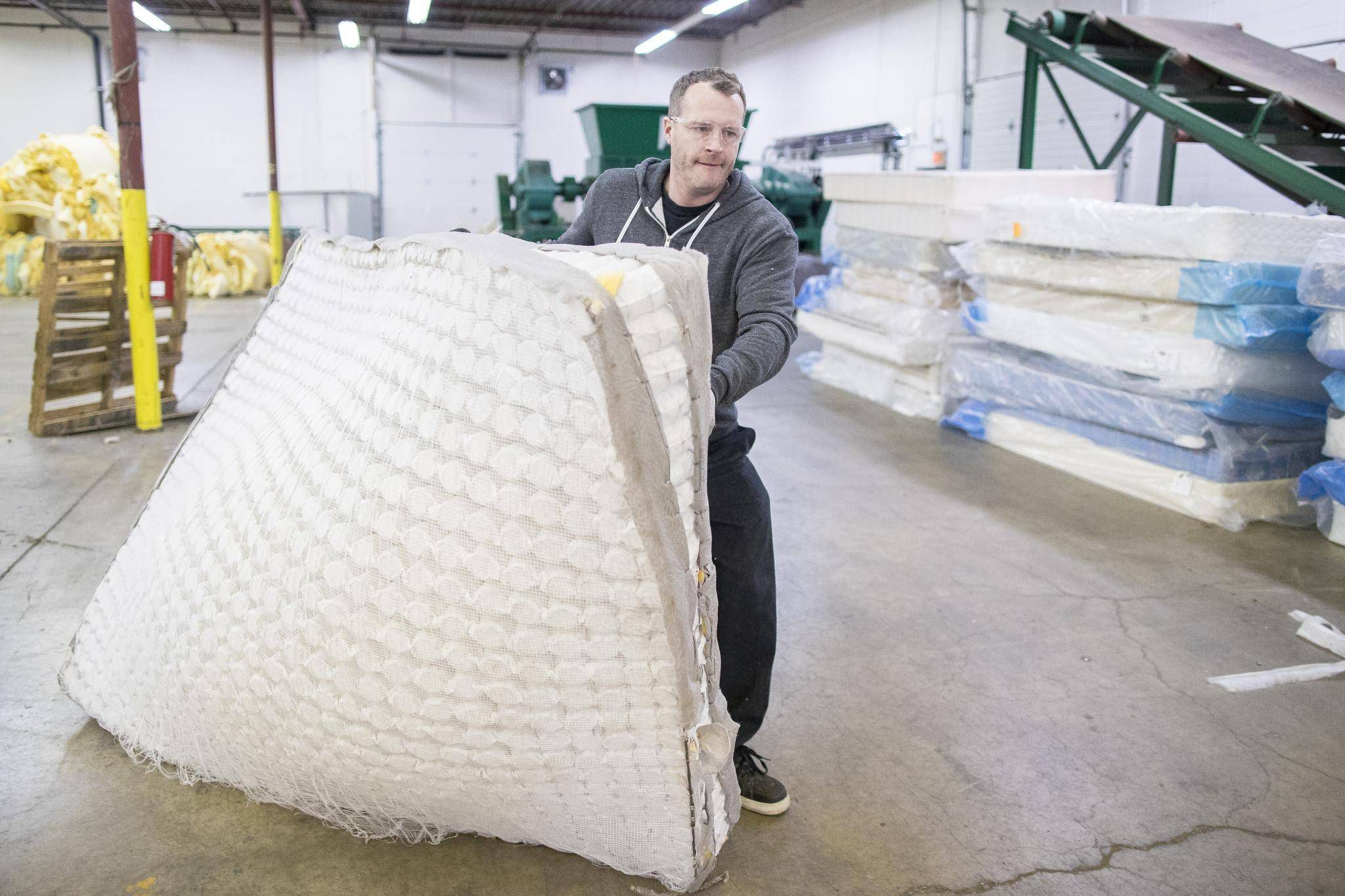 No Rest For Calgary Mattress Recycling Entrepreneur The Globe And Mail