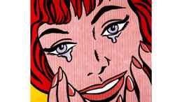 """""""Happy Tears"""" by Roy Lichtenstein"""