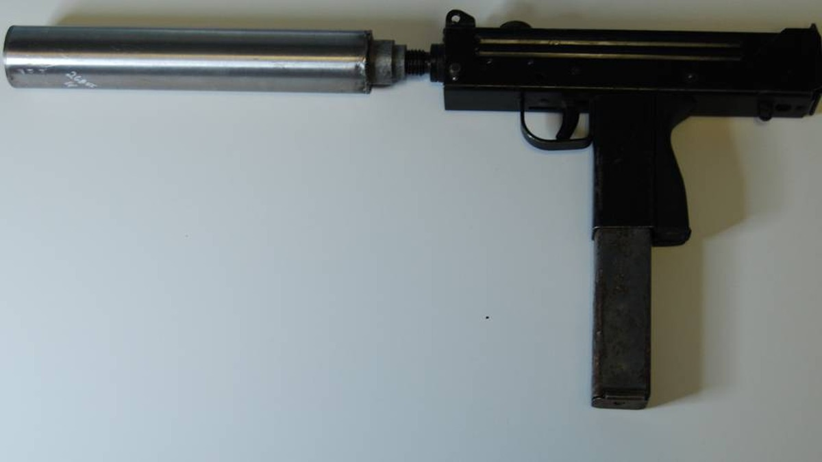 Vancouver police have already linked this Mac-11 machine pistol to several gang-related shootings in the area.