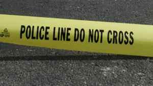 Police Do Not Cross tape.
