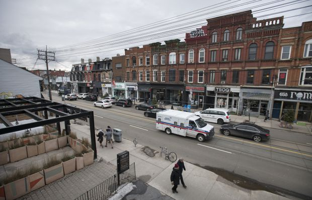Despite increasing clamour for housing, Toronto works to restrict density on iconic strip of Queen St. West
