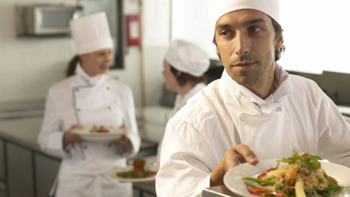 Should the chef be handling your food today?
