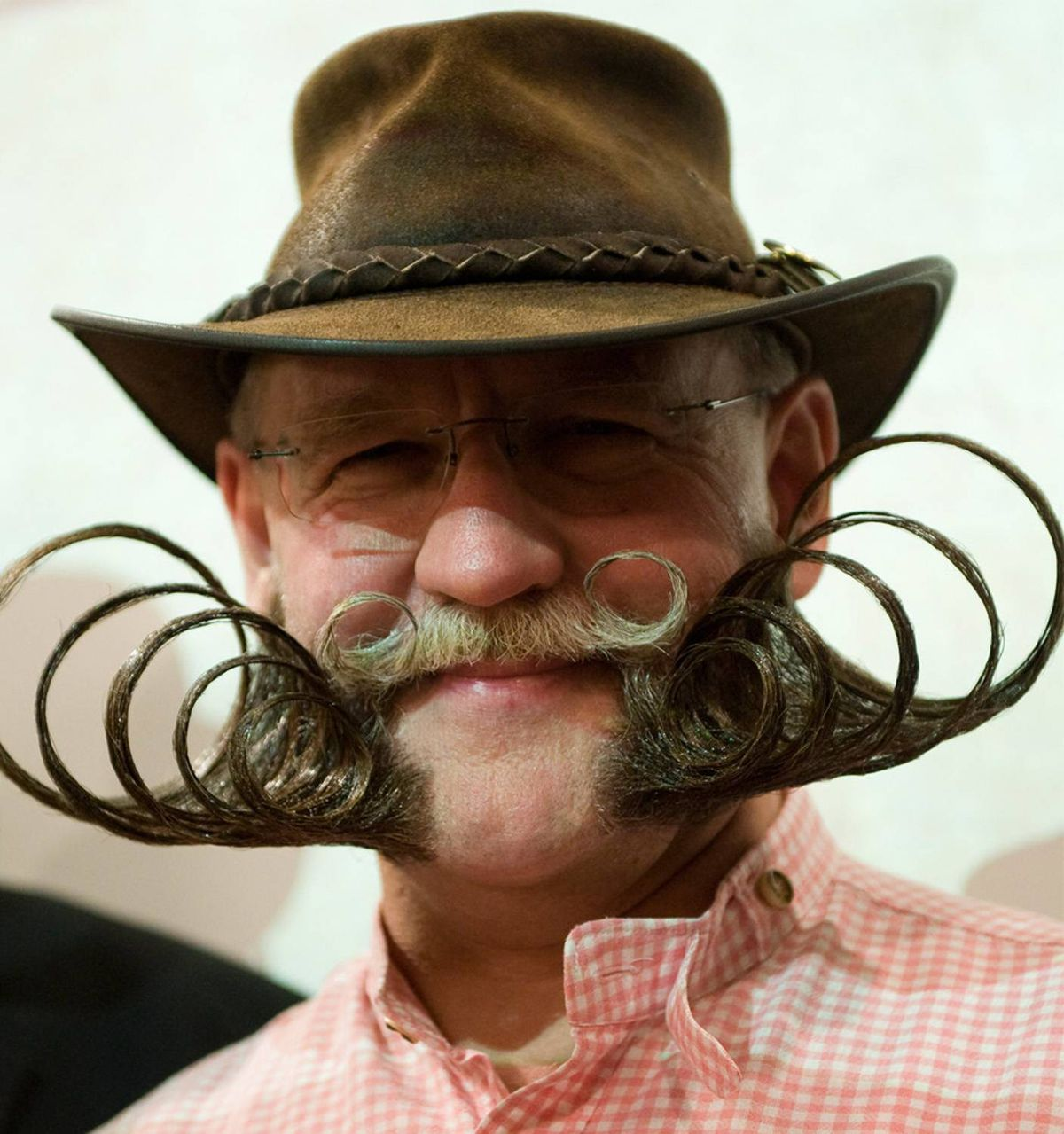 Wait. WHAT. THE. We realize he's no celebrity, and we suppose that's technically a beard, but let's just admire this feat for a moment. Kudos to you, Dieter Besuch of Germany. But we digress. Back to the countdown.