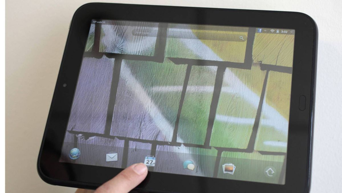 HP said Thursday it will discontinue making the TouchPad.