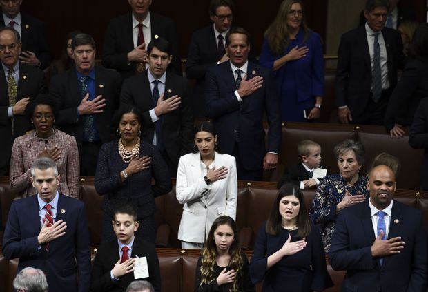 Democrats take charge of House, Nancy Pelosi elected Speaker