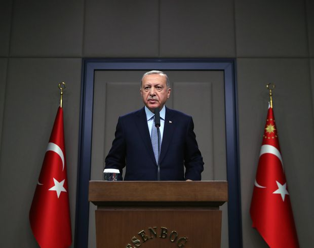Ergodan says Turkey will resume Syrian operations if U.S. promises are not kept