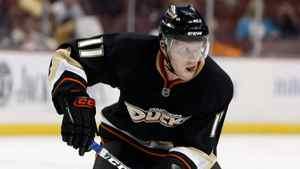 Saku Koivu of the Anaheim Ducks.