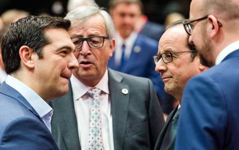 EU demands Greek reforms before more bailout talks