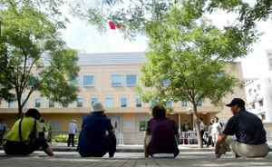 The Canadian embassy in Beijing