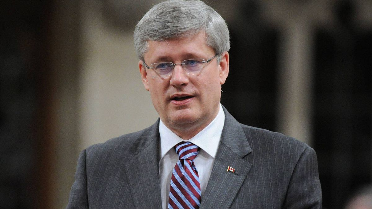 Prime Minister Stephen Harper responds to a question during Question Period in the House of Commons on Parliament Hill in Ottawa on Tuesday, May 1, 2012.