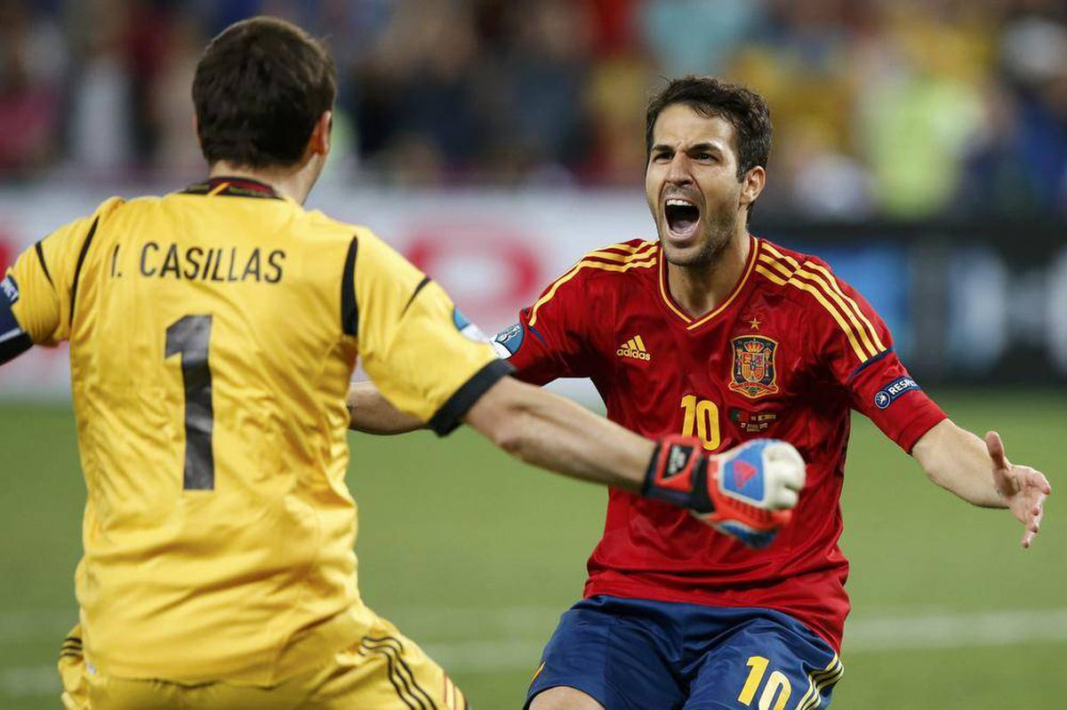 Cool Fabregas makes difference again for Spain - The Globe and Mail
