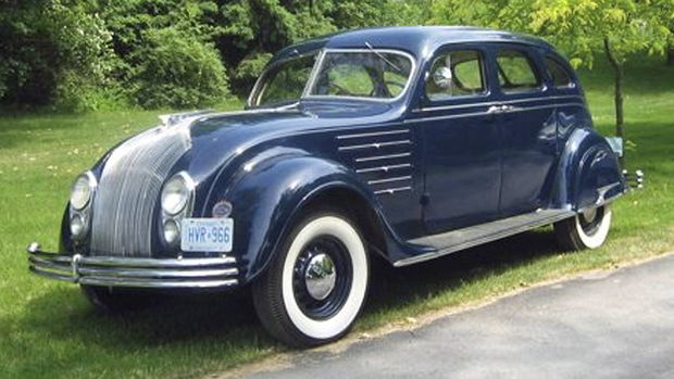Keeping his Chrysler Airflow all in the family - The Globe and Mail