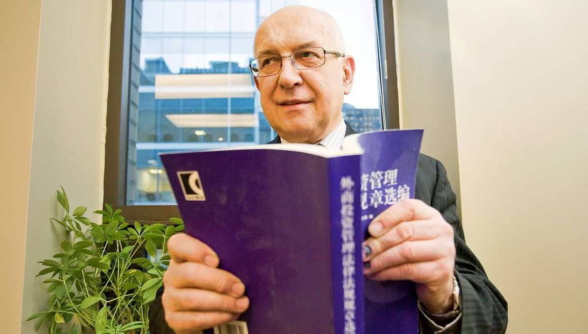 Hermann Derbuch, CEO of Gold World Resources a small gold miner is trying to break into China. He is seen in his office on December 3, 2009. JENNIFER ROBERTS FOR THE GLOBE AND MAIL