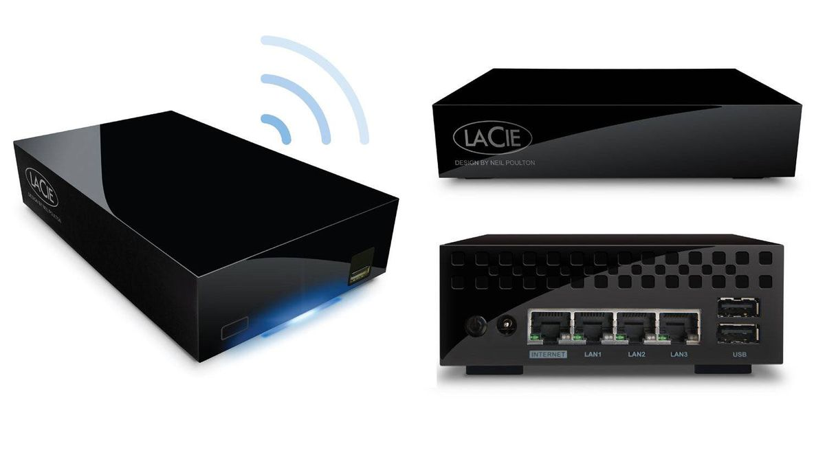 LaCie Wireless Space 2TB Those looking for a Time Capsule alternative should find this LaCie router/server combo more than capable. With 2TB of internal storage, it's the perfect network backup device, and even supports Apple's Time Machine standard. You can even use it as a media server for your Windows PCs or gaming consoles too. ($269.99 CAD; Future Shop)