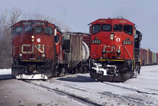 CN Rail to lay off 1,600 employees amid weakening economy, trade tensions