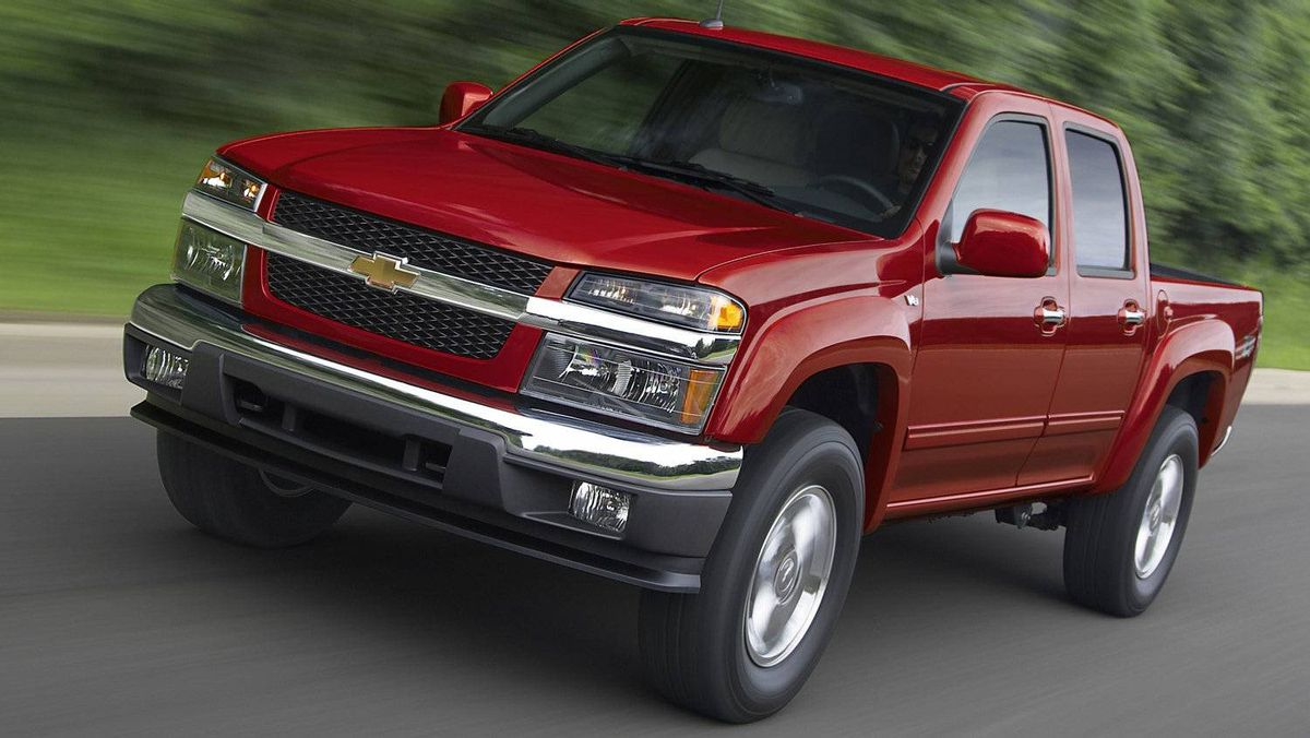 Some of the current vehicles powered by the small-block V-8, including the 2012 Chevrolet Colorado 2LT, pictured.