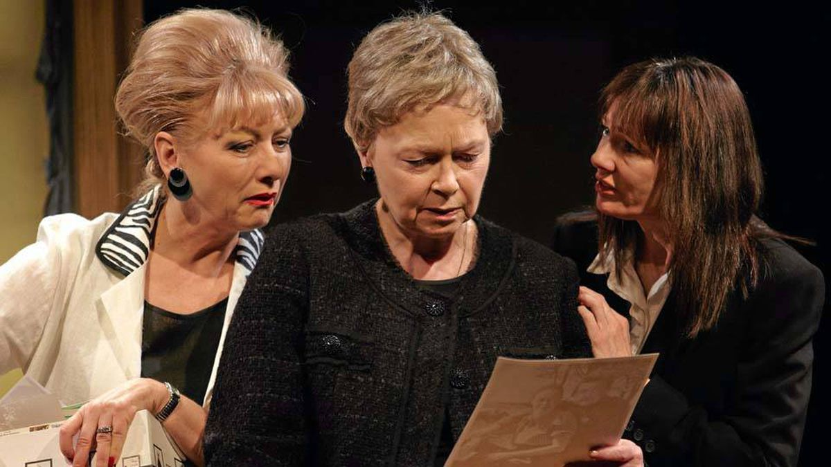 From left: Brigitte Robinson, Martha Henry and Miriam Smith star in August: Osage County, on stage in Winnipeg.