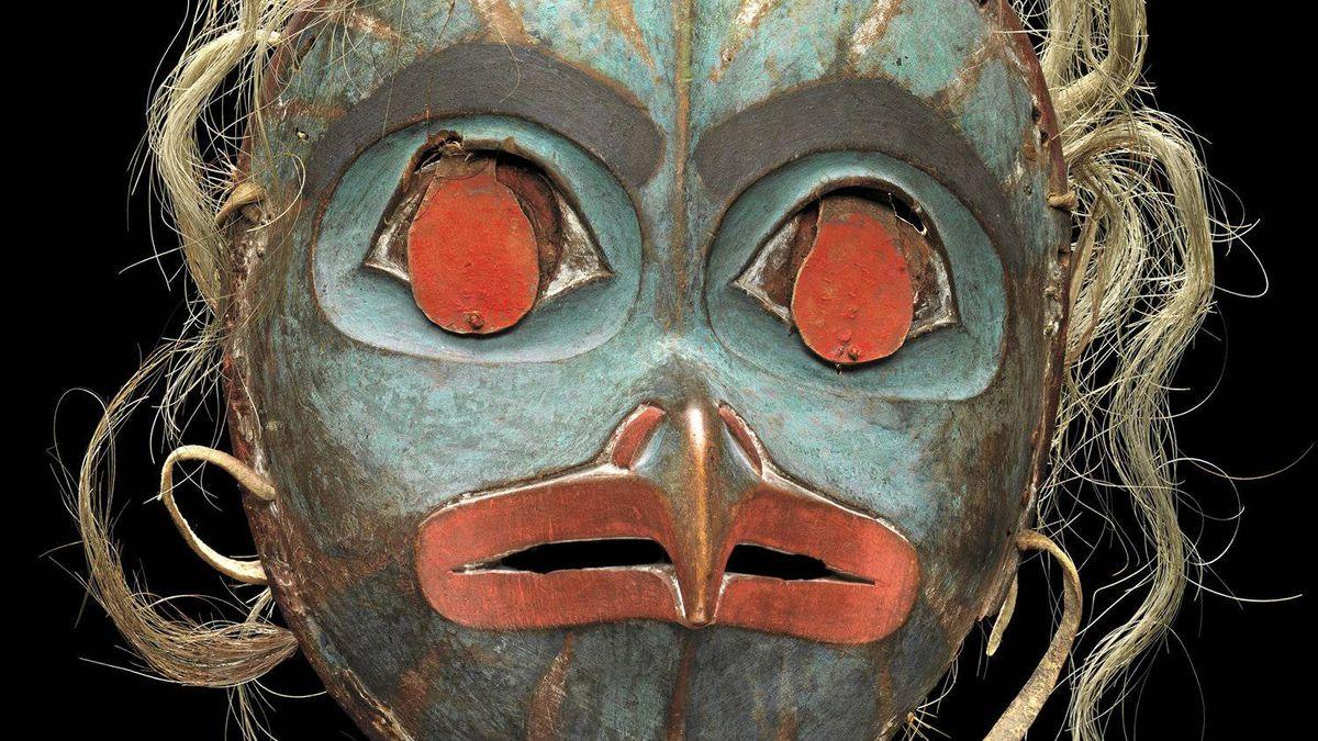 Tlingit Artist Owl Mask. Collection of Michael Audain and Yoshiko Karasawa
