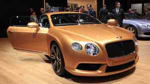 The new Bentley Continental GT V8.