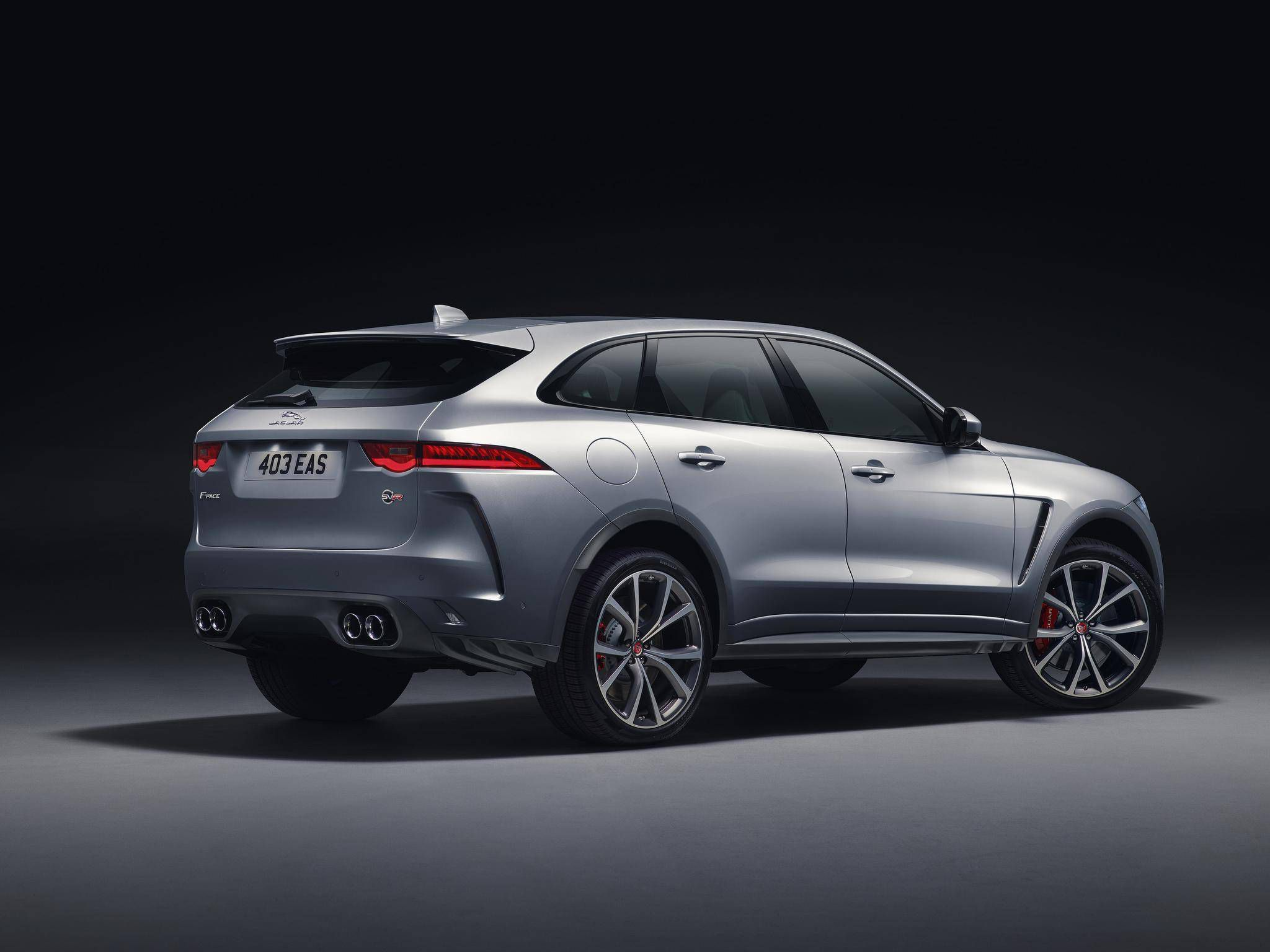 Jaguar S Car Of The Year The F Pace Suv Gets A Supercharged