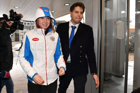 Russian speed skater An 'banned from Olympics for doping'