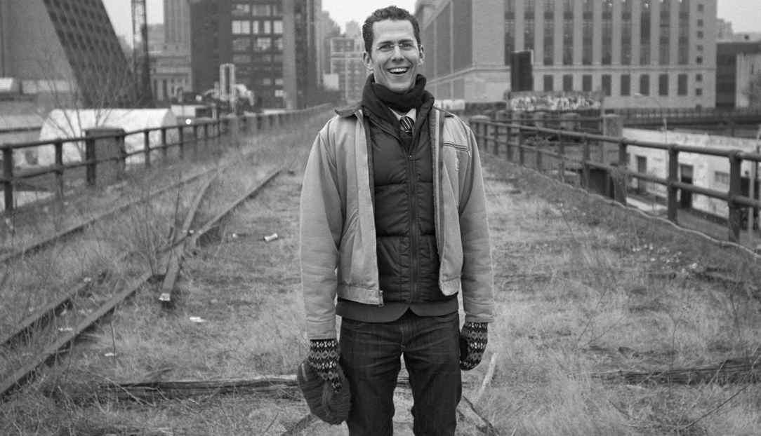 Robert Hammond on the High Line