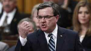Finance Minister Jim Flaherty speaks during Question Period in the House of Commons on April 3, 2012.