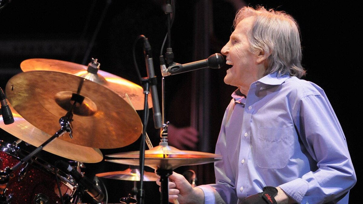Levon Helm performs at Massey Hall in Toronto, June 29, 2010.