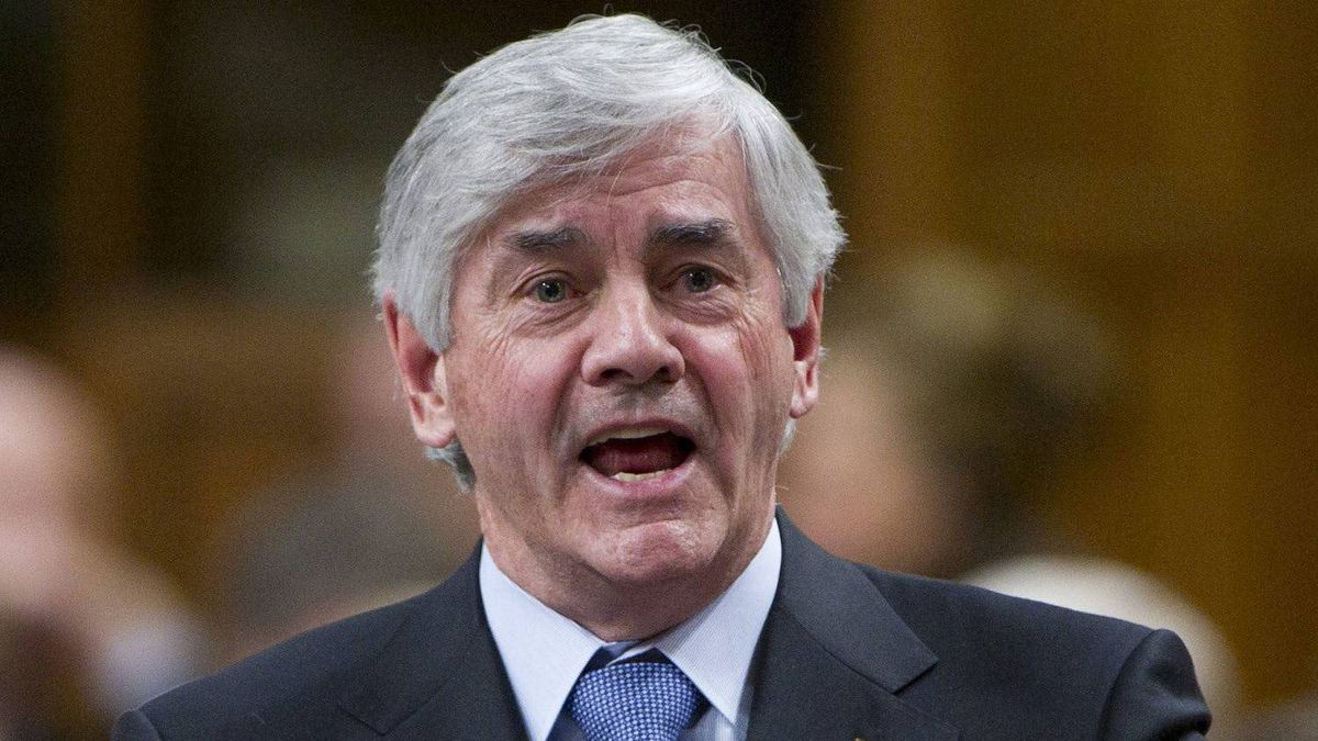 Minister of Foreign Affairs Lawrence Cannon responds to a question during Question Period in the House of Commons on Parliament Hill in Ottawa on Thursday, March 24, 2011