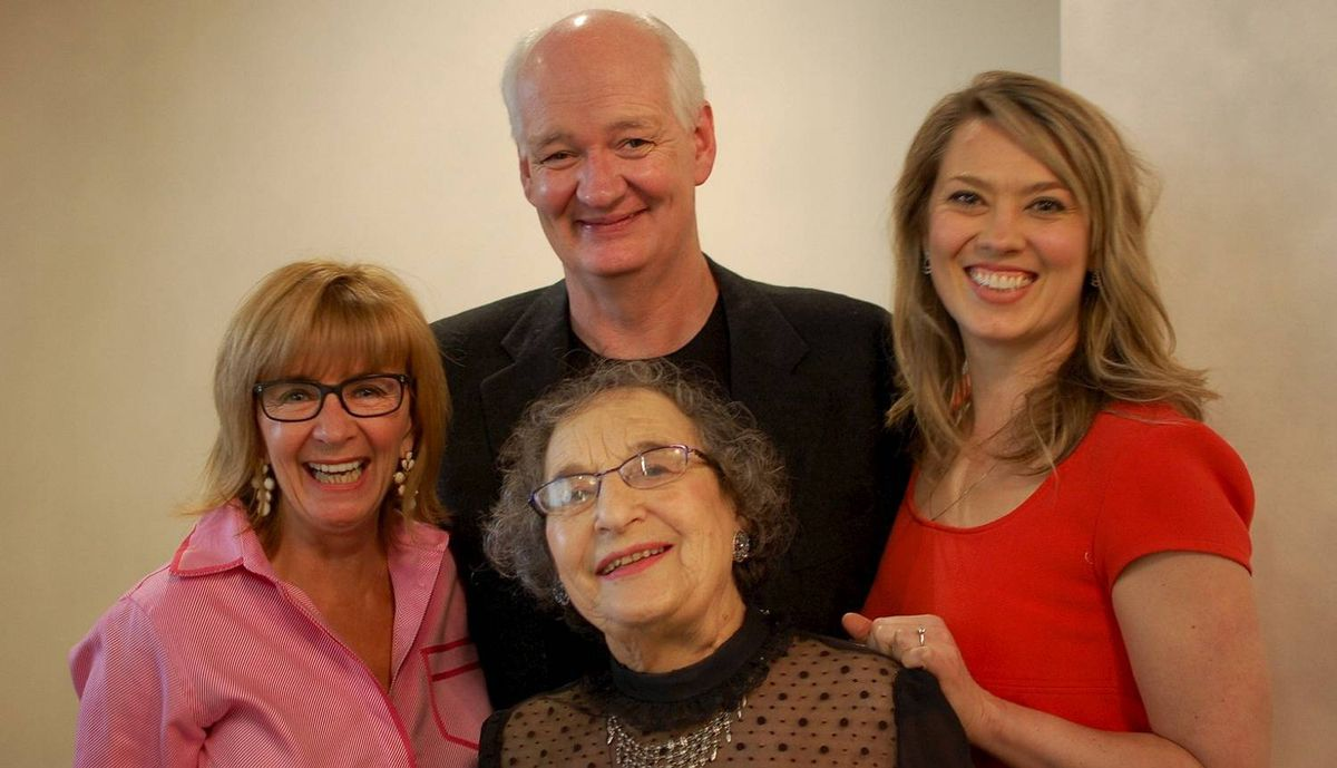 Deb McGrath, Colin Mochrie, Naomi Snieckus, Vivienne Muhling at Scrabble With the Stars