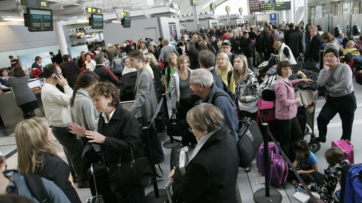 Holiday travel can drive you crazy, try to keep your sense of humour.