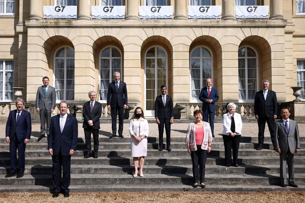 G7 finance ministers reach historic deal to set 15 per cent minimum corporate tax rate thumbnail