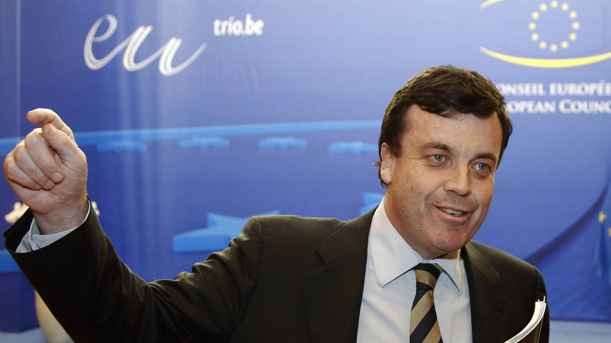 Irish Finance Minister Brian Leniha