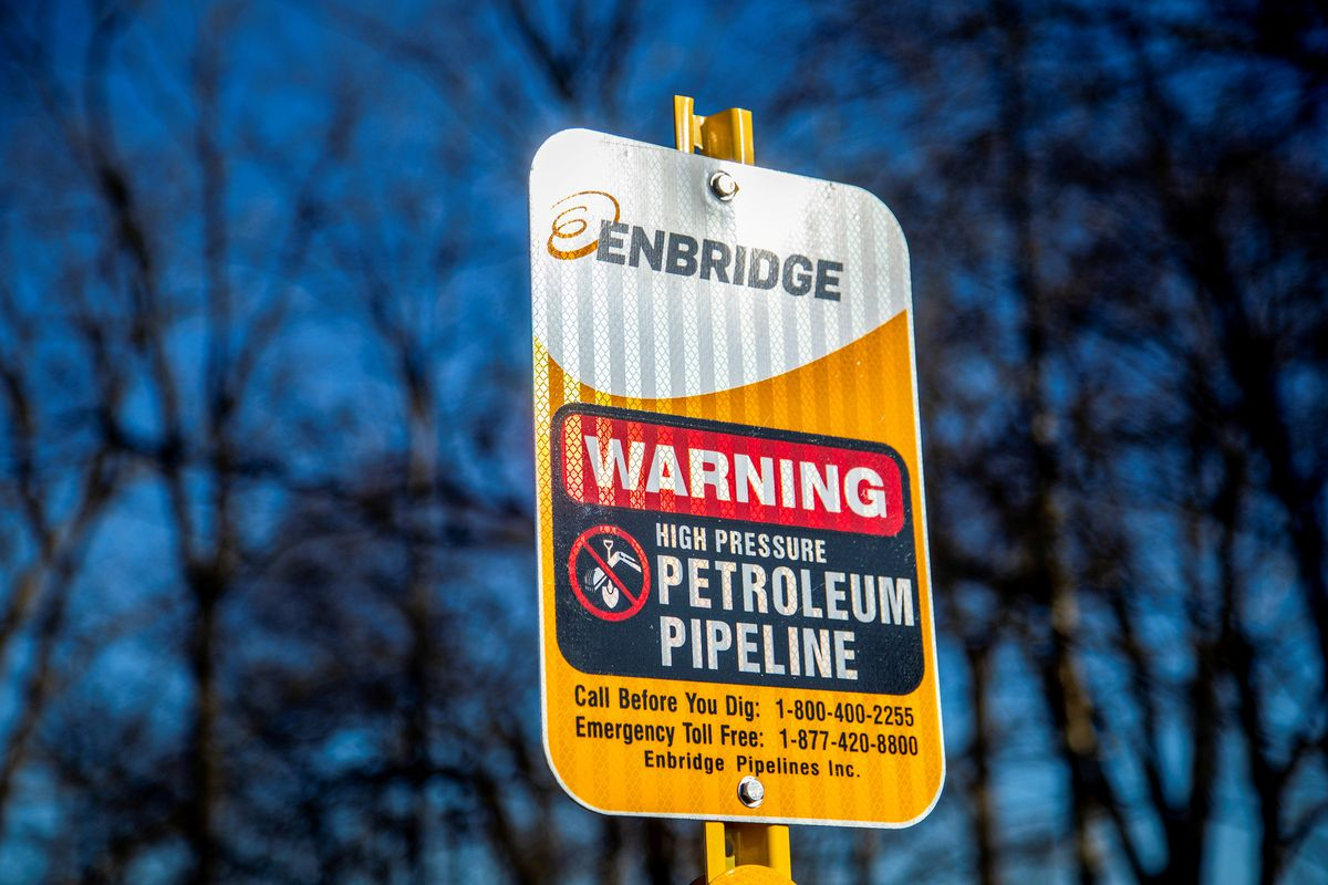 Ordered shutdown of Enbridge's Line 5 in Michigan prompts unions into action
