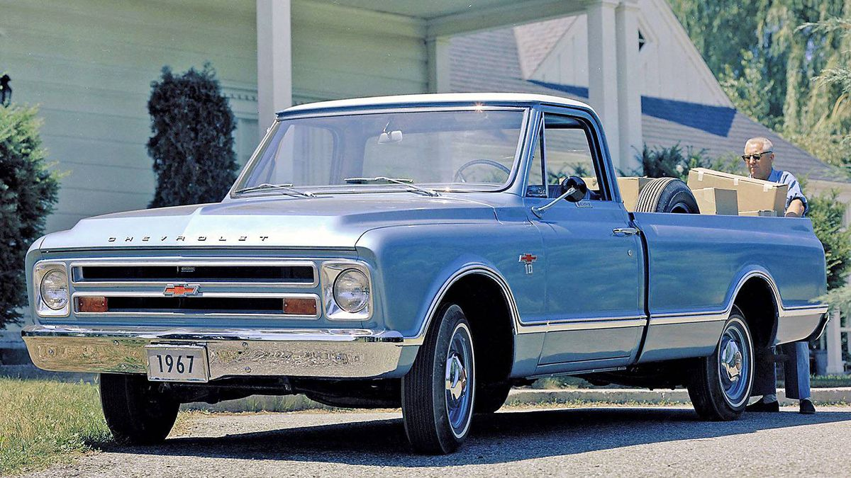1967 Chevrolet Pickup. The restyled 1967 Chevy pickups increasingly appealed to personal-use customers.