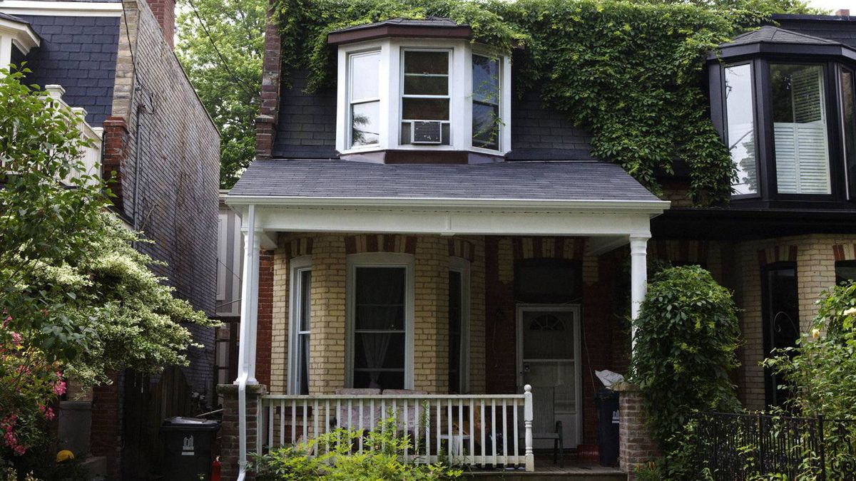 The semi-detached house at 19 Geneva Avenue, one of 22 of Toronto Community Housing home sold in 2011.