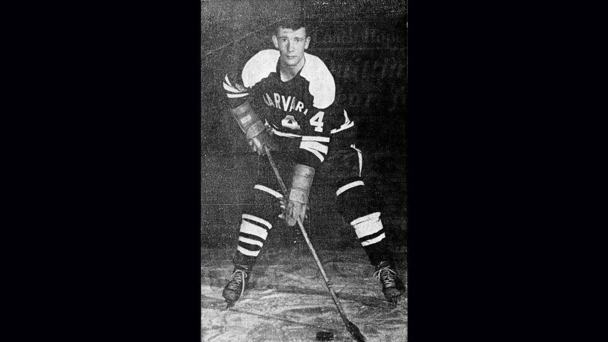 Governor- General David Johnston served as captain on the 1962-63 Harvard men's hockey team.
