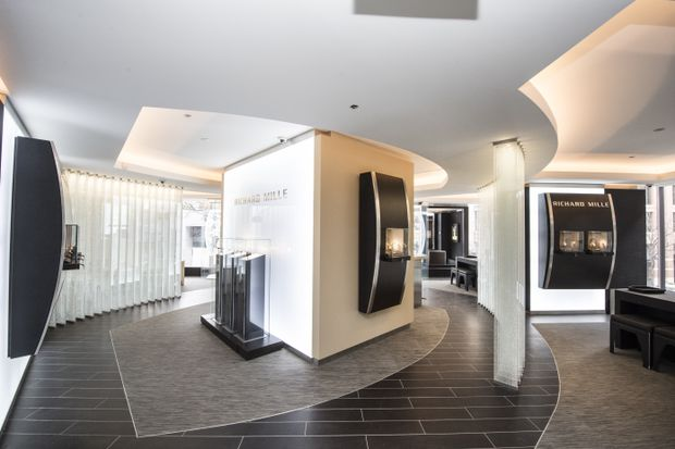 Canada's first Richard Mille boutique is a high-rolling temple to wristwatches