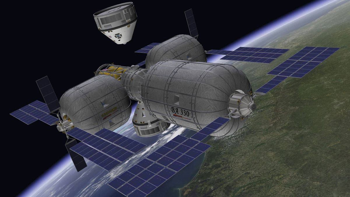 Designed to fly to the International Space Station and Bigelow's planned inflatable-module Orbital Space Complex, the seven-crew CST-100 will be bigger than the Apollo capsule, but smaller than NASA's Orion crew vehicle. It will be capable of being launched on a range of boosters including Atlas, Delta and Falcon, Boeing says.