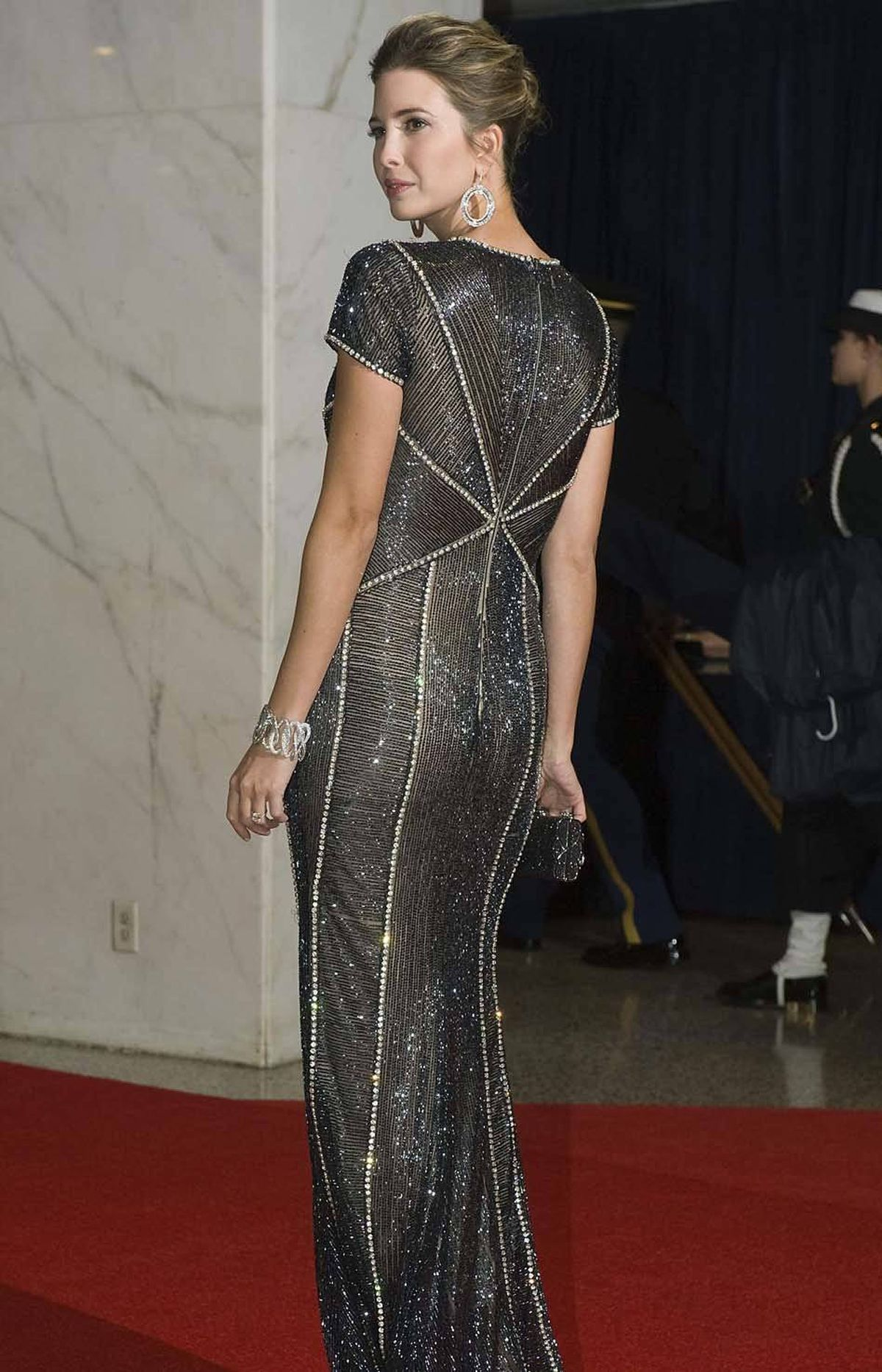 Socialite Ivanka Trump attended the annual White House Correspondents' Dinner at the Washington Hilton in Washington, D.C. on Saturday.