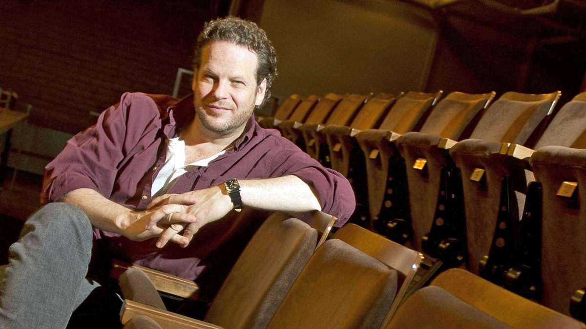 Soulpepper Theatre's Albert Schultz at the Young Centre for the Performing Arts in Toronto, Jan. 12, 2011.
