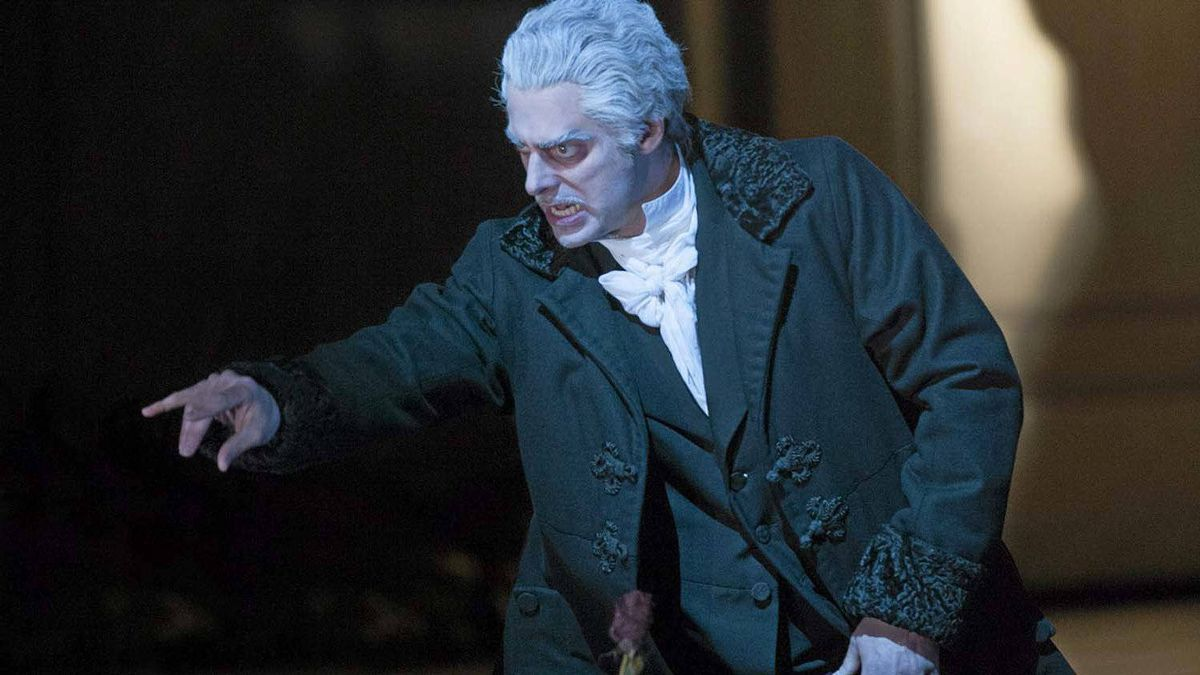 """John Relyea as Dr. Miracle in the Canadian Opera Company production of """"The Tales of Hoffmann"""""""